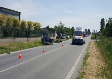 RIVALTA - Ennesimo schianto sulla sp 143. Traffico e code tra Rivalta e Rivoli