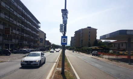 BEINASCO - Ecco gli occhi elettronici del velox che farà le multe in strada Torino