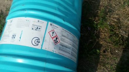 MONCALIERI - Maiali in azione: discarica abusiva con fusti di sostanze pericolose