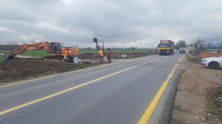 ORBASSANO - Iniziati i lavori per la nuova rotonda sulla provinciale 143