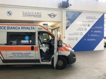 MONCALIERI - Autocrocetta sanifica gli ambienti e le vetture con lOzono Protea - VIDEO
