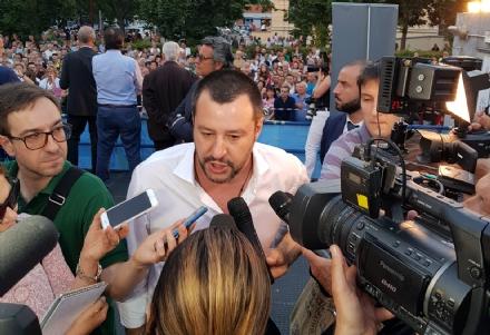 MONCALIERI - Matteo Salvini su Daisy: «Nessun razzismo, solo stupidità»