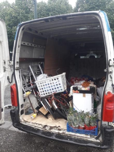 MONCALIERI - Blitz dei carabinieri in corso Rosselli: ancora bivacchi abusivi dei rom