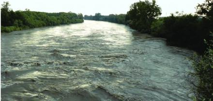 MALTEMPO - Allerta gialla per le piogge, prevista moderata criticità per il Po a Carignano