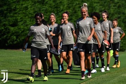 CALCIO - A Vinovo prosegue la preparazione delle Juventus Women