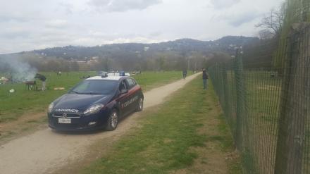 MONCALIERI - Nuovo tentato stupro alle Vallere: carabinieri in presidio