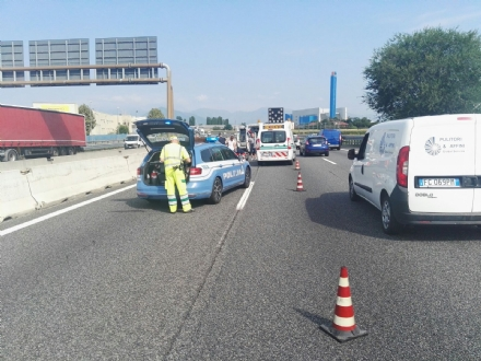ORBASSANO - Tangenziale in tilt per tre incidenti a distanza di pochi chilometri