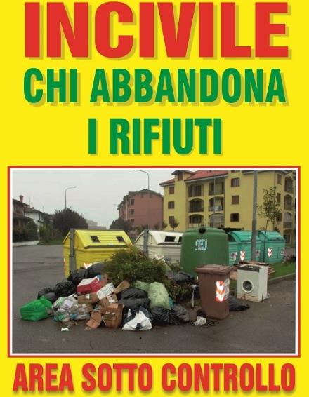 MONCALIERI - Il comitato di Borgo Mercato contro gli incivili che abbandonano rifiuti