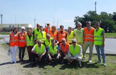 RIVALTA - Rotonda di Tetti Francesi: sindaco e cittadini chiedono maggiore sicurezza