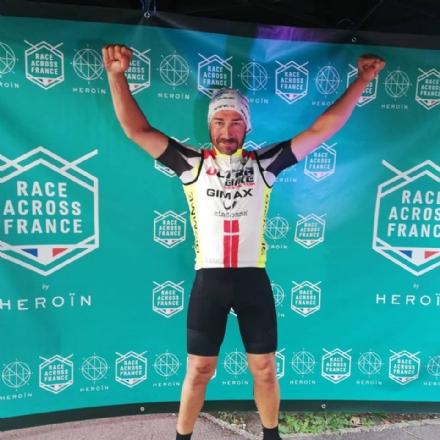 MONCALIERI - Nuova impresa del ciclista Marcello Luca: vince la Race Across France