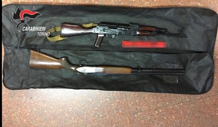 BEINASCO - Armi e droga sequestrate dai carabinieri nel fine settimana