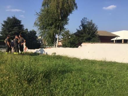 RIVALTA - Auto impazzita piomba nel parco: il conducente romeno era ubriaco