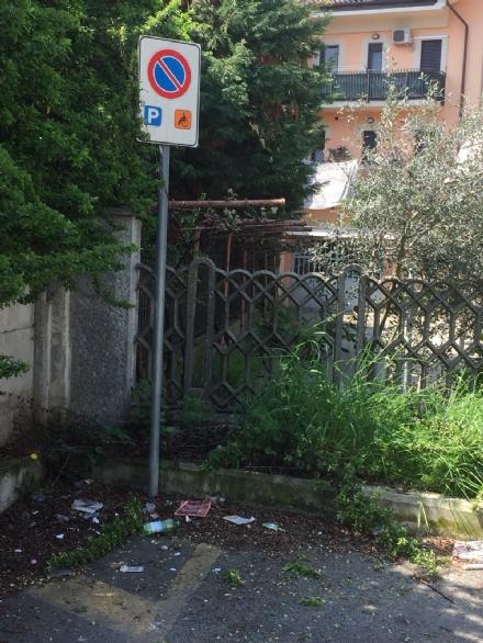 MONCALIERI - Allarme siringhe abbandonate in borgo San Pietro
