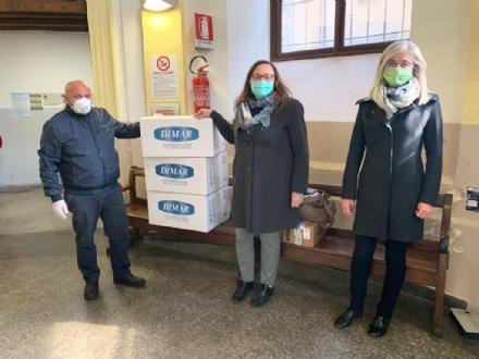 CARMAGNOLA - Donati al San Lorenzo 20 caschi respiratori