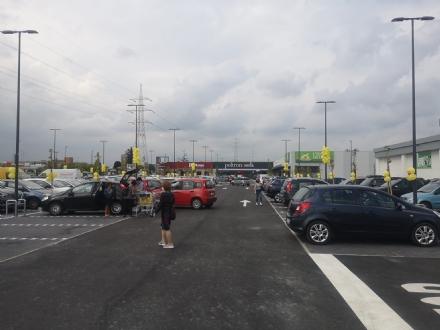 BEINASCO - Apre il nuovo centro commerciale in zona ex Fapa