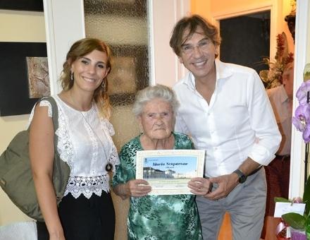 NICHELINO - Super compleanno e grande festa per Maria Scaparone: 100 anni