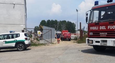 TRAGEDIA A LA LOGGIA - Operaio muore sotterrato nello scavo di un cantiere - FOTO