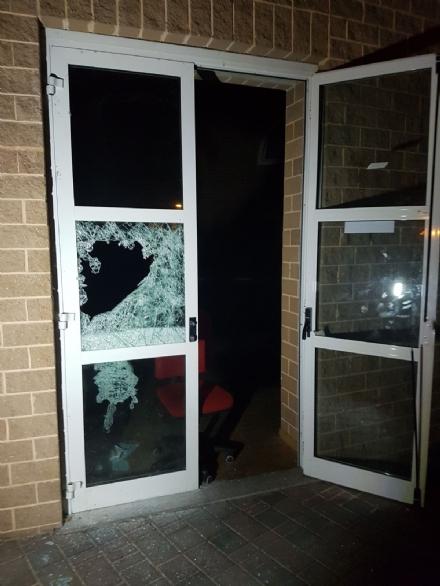 MONCALIERI - Tornano in azione i vandali al centro polifunzionale di Santa Maria