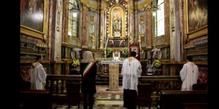 CARMAGNOLA - Virus, sindaco e parroci rinnovano il voto alla Madonna