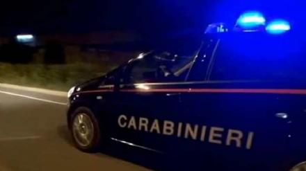 NICHELINO - Paura in serata in zona stazione per unauto a fuoco