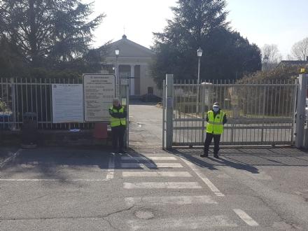 VIRUS - Anche Moncalieri chiude i due cimiteri cittadini