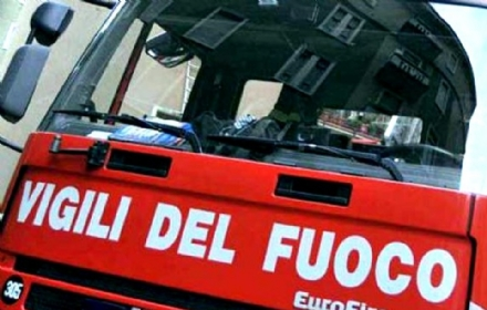 RIVALTA - Paura per un incendio in via dei Foglienghi