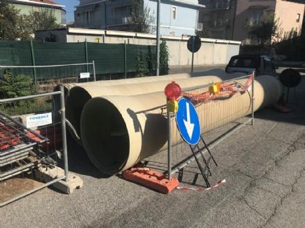 MONCALIERI - Partono i lavori per le nuove fogne a Borgo Mercato
