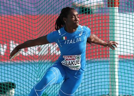 MONCALIERI - Daisy Osakue andrà ai Mondiali di Doha