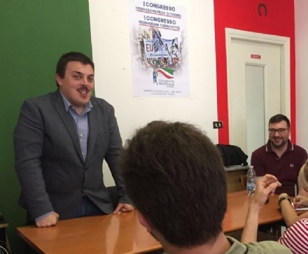 CARMAGNOLA - Lorenzo Stella e Gioventù Nazionale al lavoro per nuovi appuntamenti