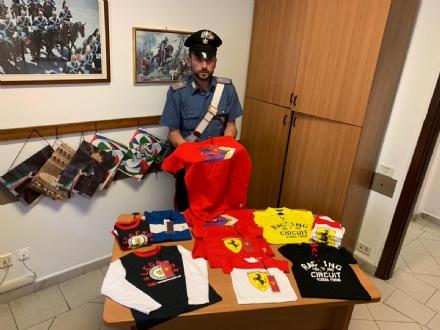 NICHELINO - In un alloggio spuntano magliette della Ferrari rubate: tre nomadi denunciati dai carabinieri