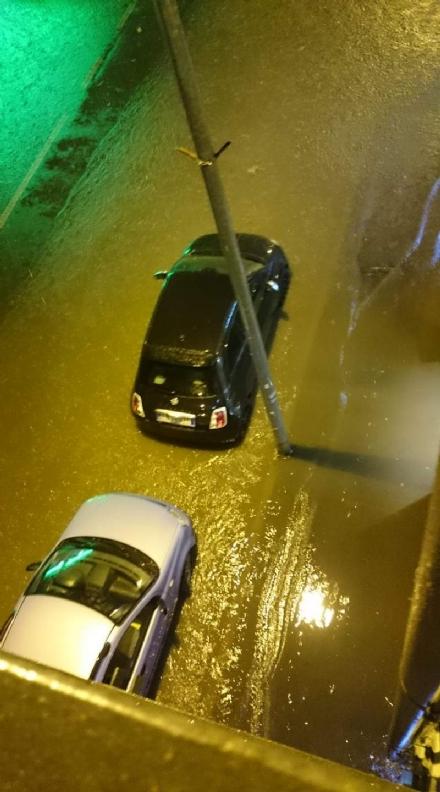 TORINO SUD - Violento nubifragio con grandine e pioggia, allagamenti a Moncalieri, Nichelino, La Loggia e Trofarello - FOTO