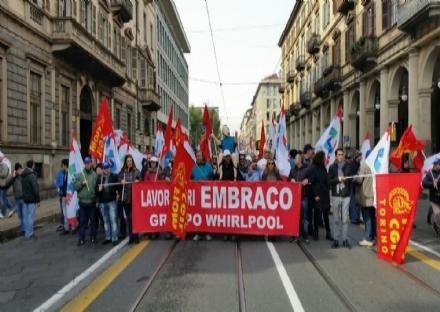 EMBRACO - Domani sciopero di otto ore in attesa degli esiti della trattativa