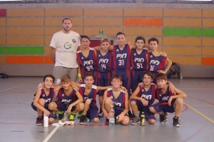 NICHELINO - I piccoli campioni della pallacanestro under 13 strapazzano il Condove