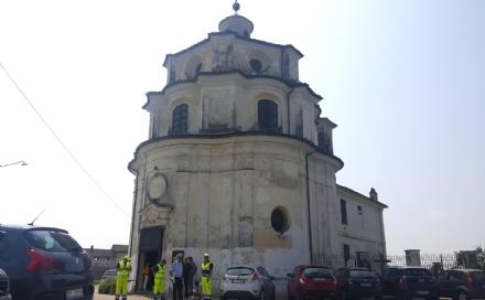 CARIGNANO - Dopo un anno e mezzo di lavori riapre al pubblico il santuario del Valinotto
