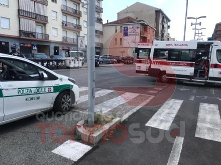 NICHELINO - Giovane ciclista investita: trasportata in ospedale a Moncalieri