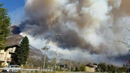 CINTURA - Dramma incendi, LAsl To 3: «Non uscite di casa se potete»