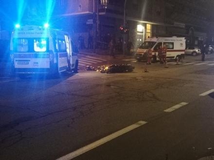 MONCALIERI - Tragedia in strada Genova: muore un 45 enne sul motorino