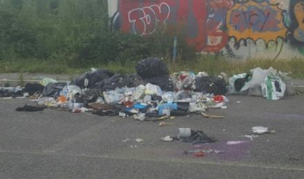 NICHELINO - Ancora abbandoni di rifiuti, in zona industriale Vernea nuova discarica