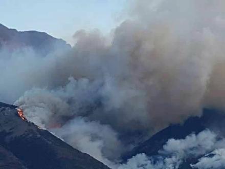 PIOSSASCO - Tentano di dare fuoco al Monte San Giorgio, gli Aib evitano il disastro
