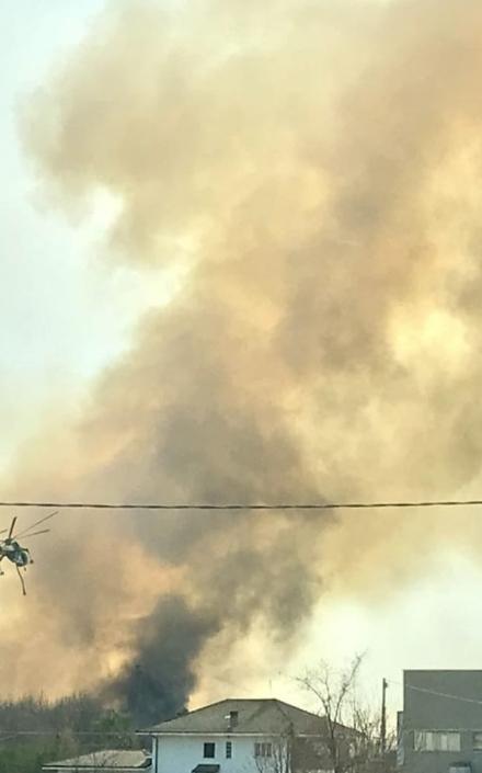 PIOSSASCO - Arpa rassicura sullincendio: non ci sono pericoli di inquinamento