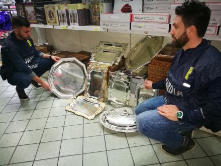 LA LOGGIA - Falso argento, operazione della guardia di finanza: una truffa per oltre 3 milioni di euro