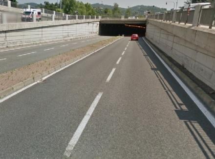 MONCALIERI/TORINO - Sottopasso del Lingotto chiuso oltre un mese per lavori