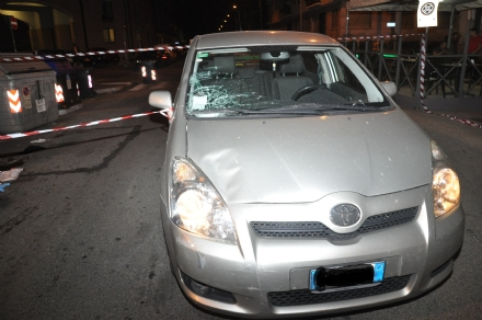 NICHELINO - Autista nichelinese investito e ucciso mentre attraversa la strada
