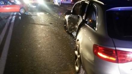 ORBASSANO - Due feriti gravi nello schianto sulla Circonvallazione Esterna