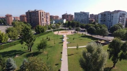 ORBASSANO - Inaugurato il parco pubblico dedicato al genio di Galileo Galilei - FOTO