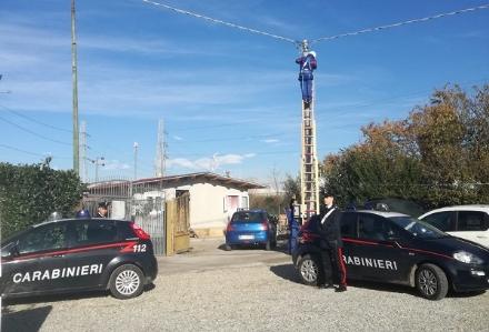 ORBASSANO - Rubano corrente elettrica: denunciata una famiglia rom