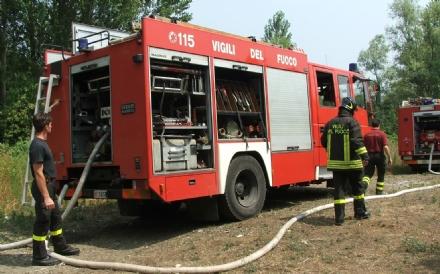 NICHELINO - Accende un falò per bruciare le foglie: multa di 400 euro