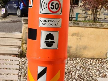 CARIGNANO - Installati i velobox per il controllo velocità