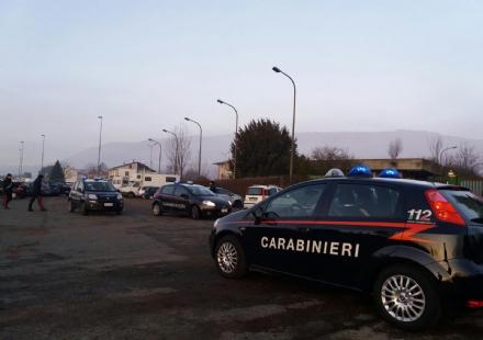 CARIGNANO - Arrestato un sinti dopo un inseguimento da Carmagnola