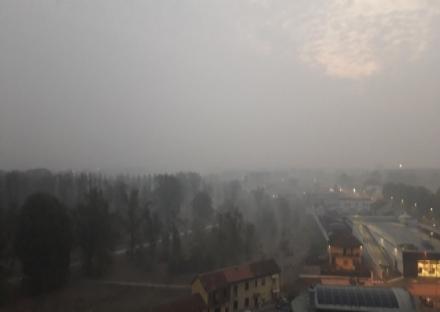 CINTURA - Crolla il livello di Pm10, ieri il limite registrato è stato di 72